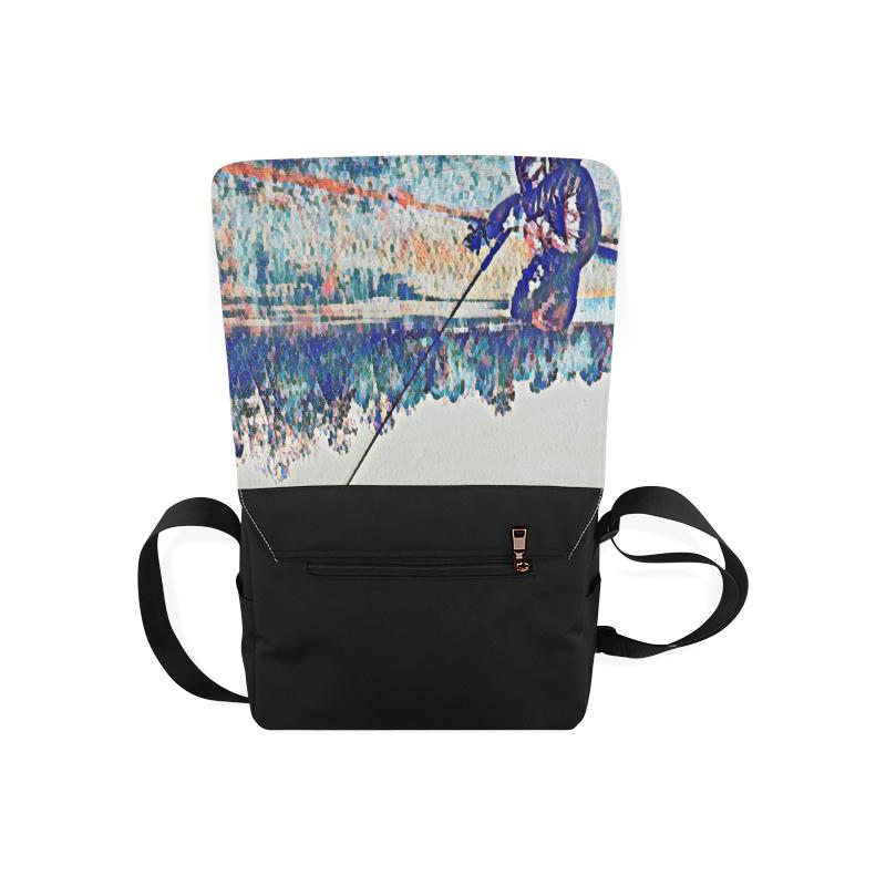 Levi Thang Fishing Design 1 Messenger Bag - I Am A Dreamer