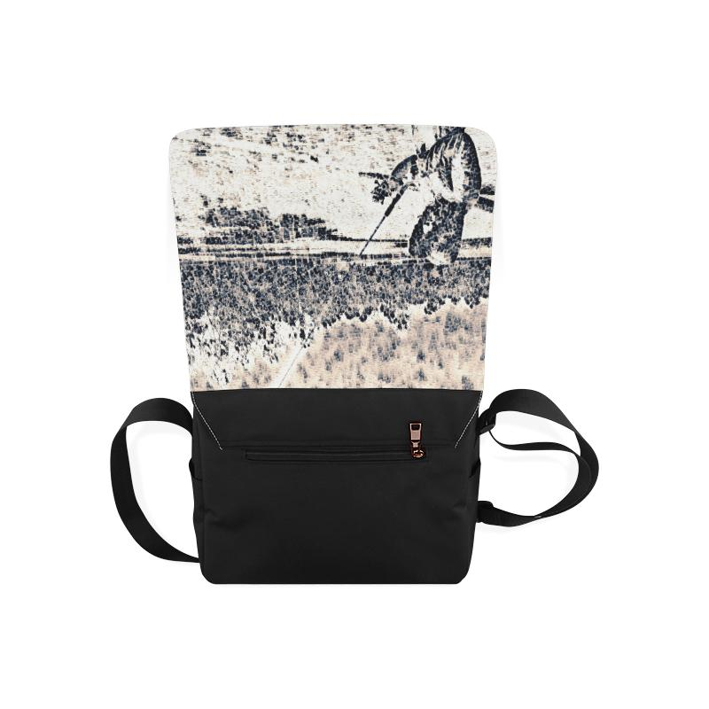 Levi Thang Fishing Design 34 Messenger Bag - I Am A Dreamer