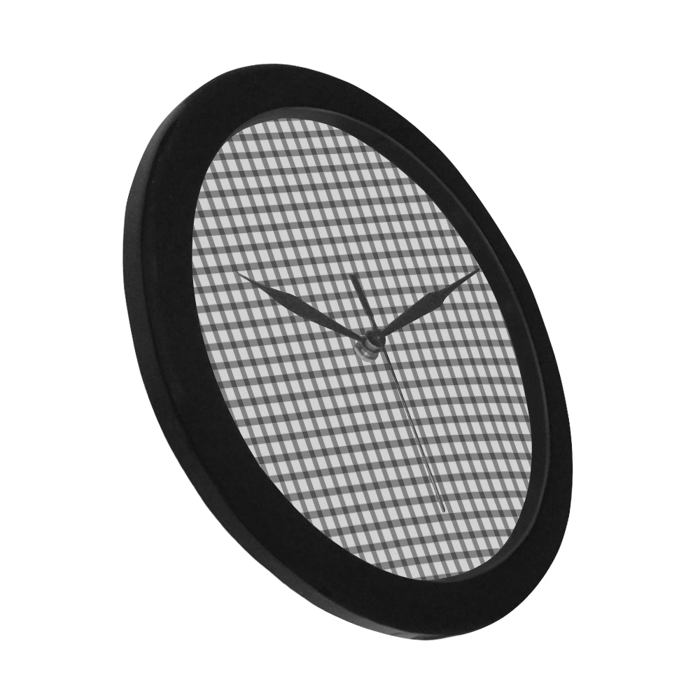 Tribal Black Circular Plastic Wall clock - I Am A Dreamer