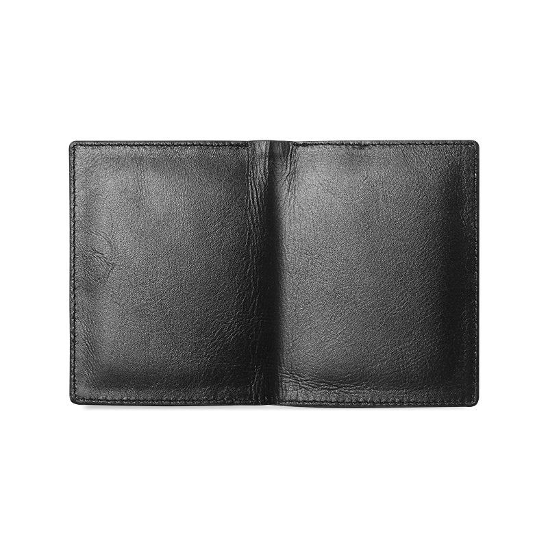 Dreamer Men's Black Leather Wallet