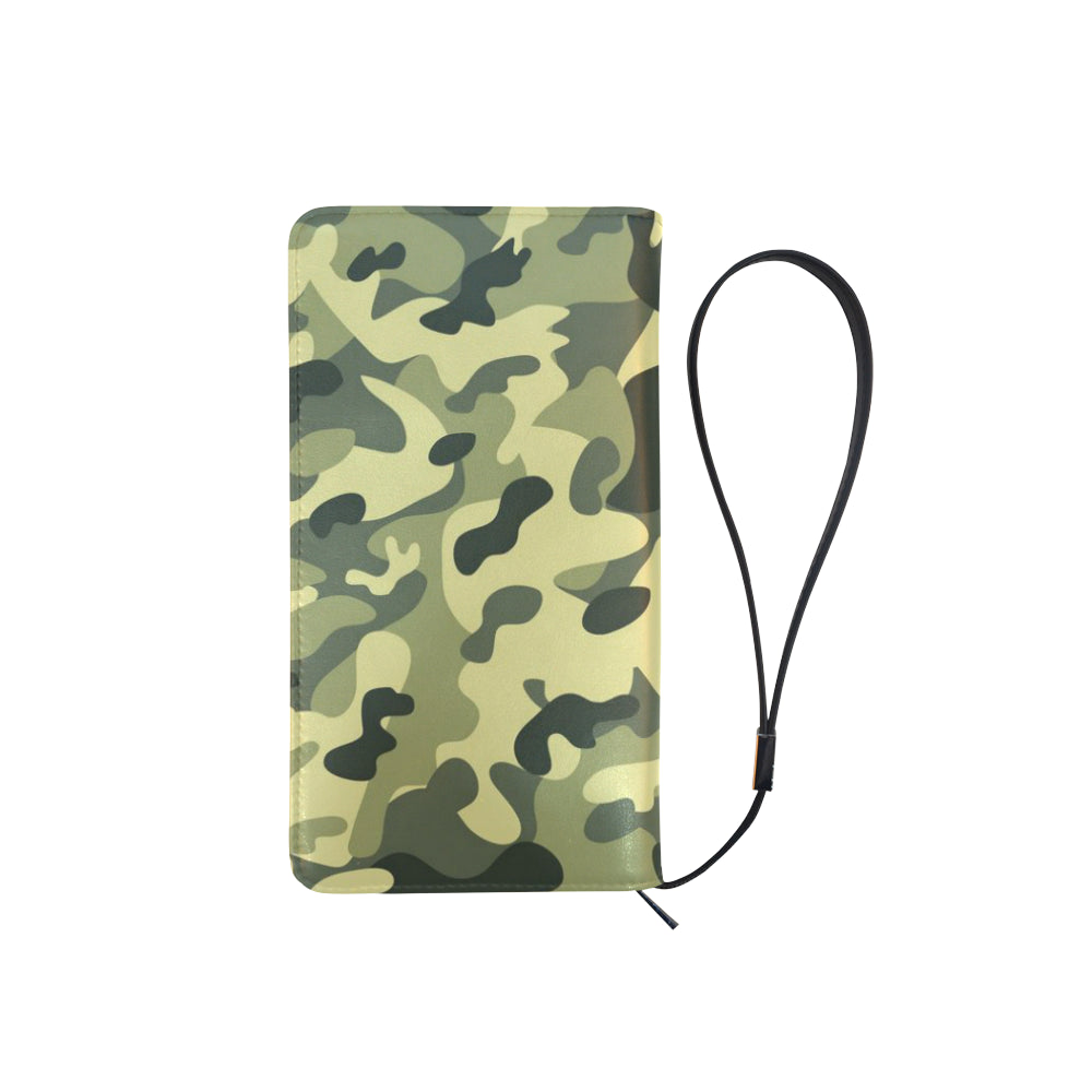 Camouflage Green Dreamer Men's Clutch Purse