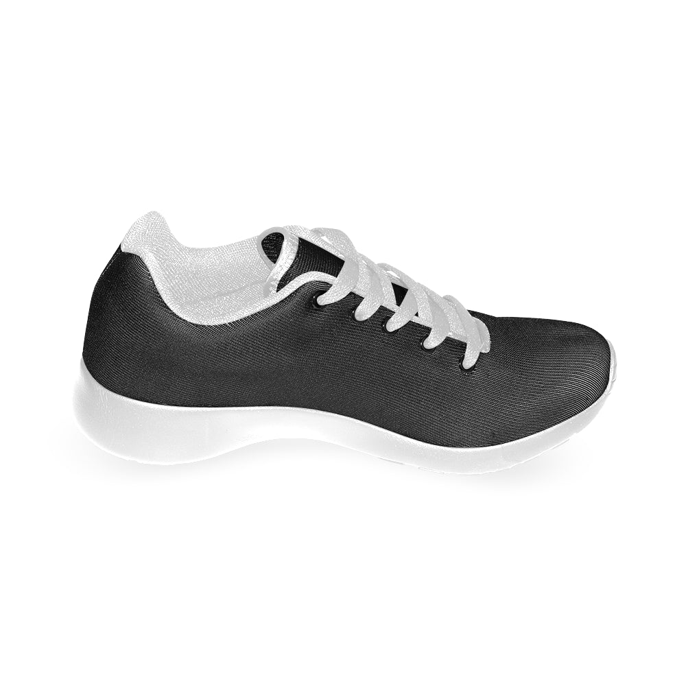 Black and White Fashion Women's Sport Running Shoes - I Am A Dreamer