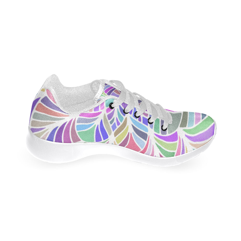 Mandala Feminine White Women's Running Shoes - I Am A Dreamer