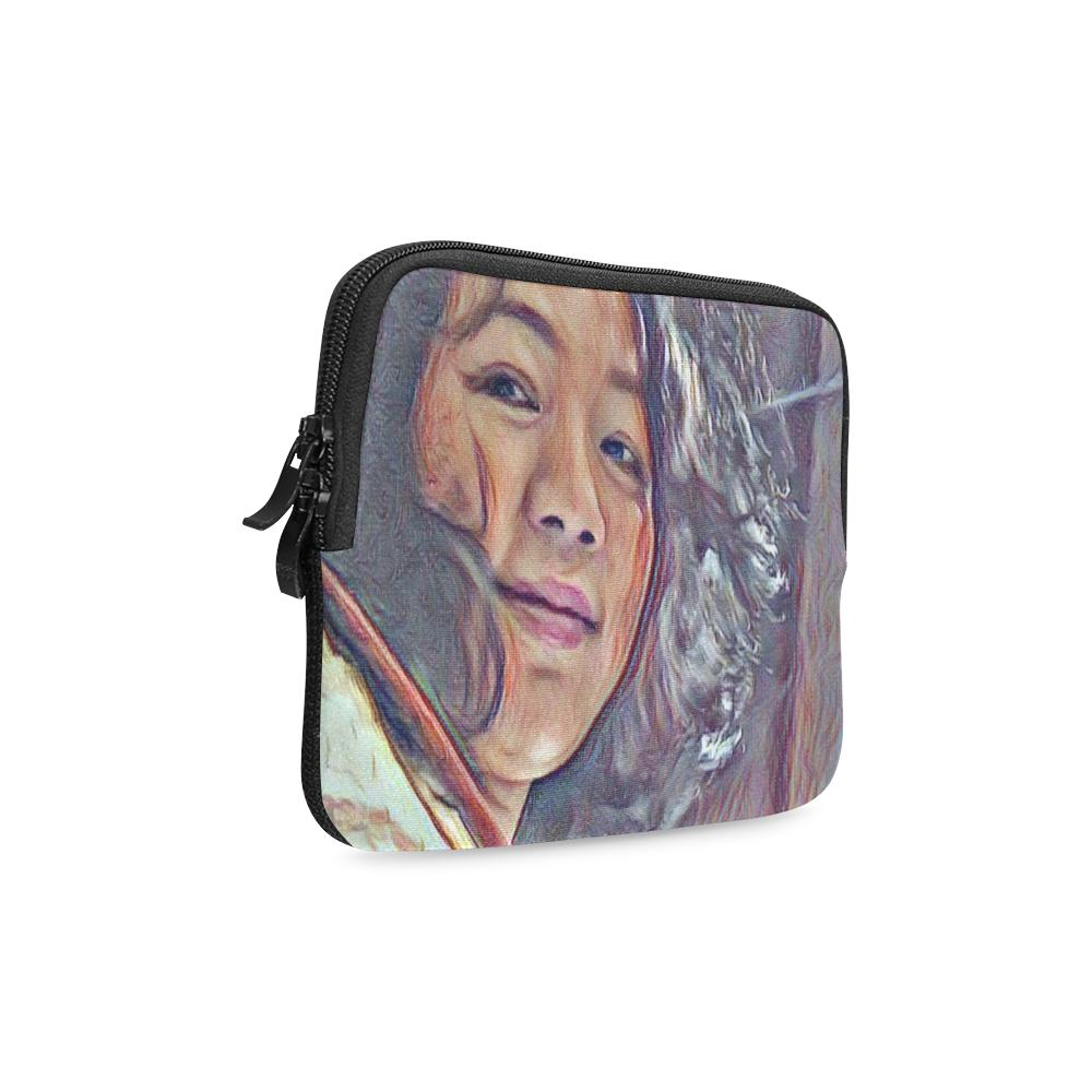 Levi Thang Vintage Face Design C iPad mini Sleeves