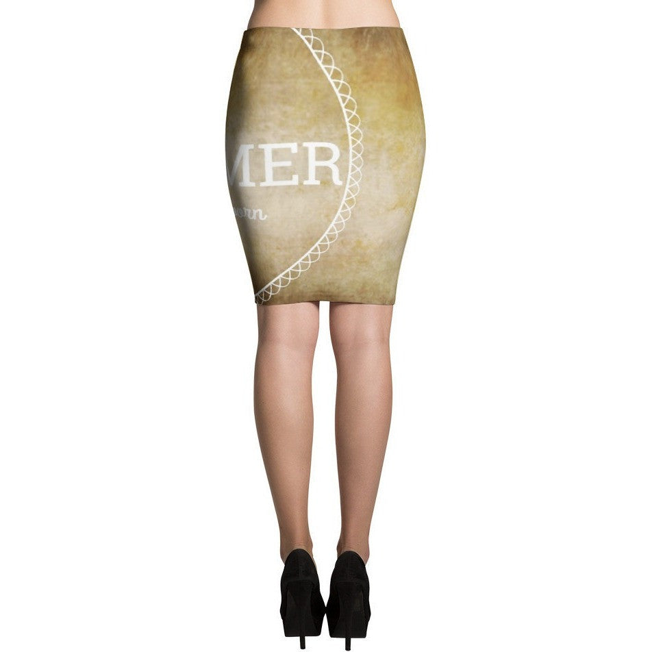 I'm A Dreamer since i was born Vintage Fashion Pencil Skirts - I Am A Dreamer