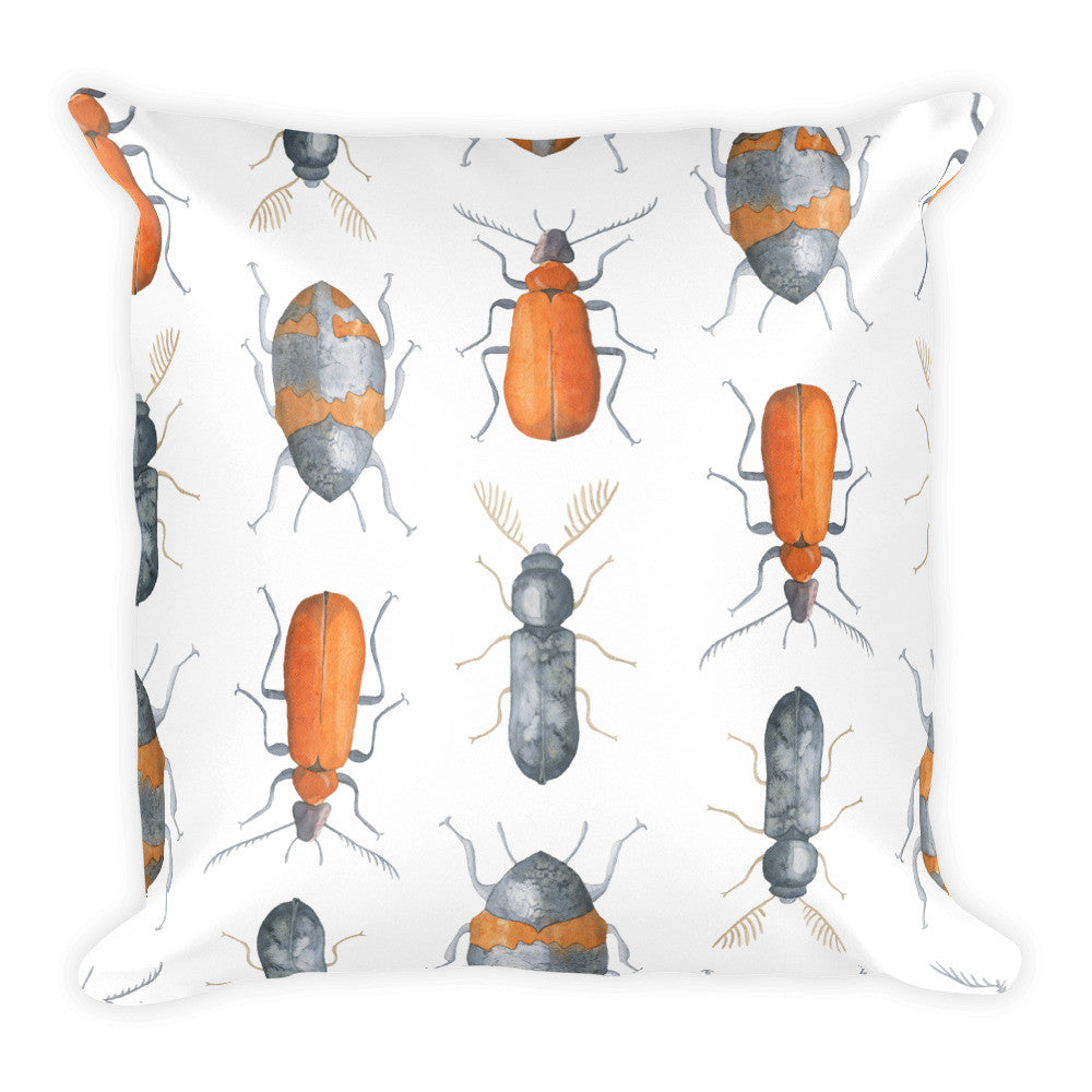I Am A Dreamer Insect Safari Theme Throw Pillow - I Am A Dreamer