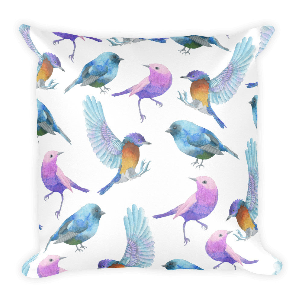 I Am A Dreamer Safari Theme Birds Throw Pillow - I Am A Dreamer