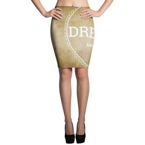 I'm A Dreamer since i was born Vintage Fashion Pencil Skirts- I Am A Dreamer