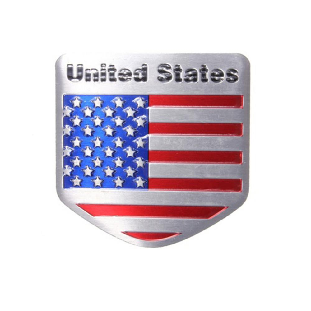 1pcs Car Styling The United States American Flag Car stickers - I Am A Dreamer