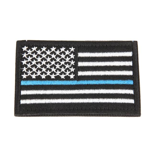 Embroidered USA Flag Patches Army Badge Patch Tactical Military Patches Fabric