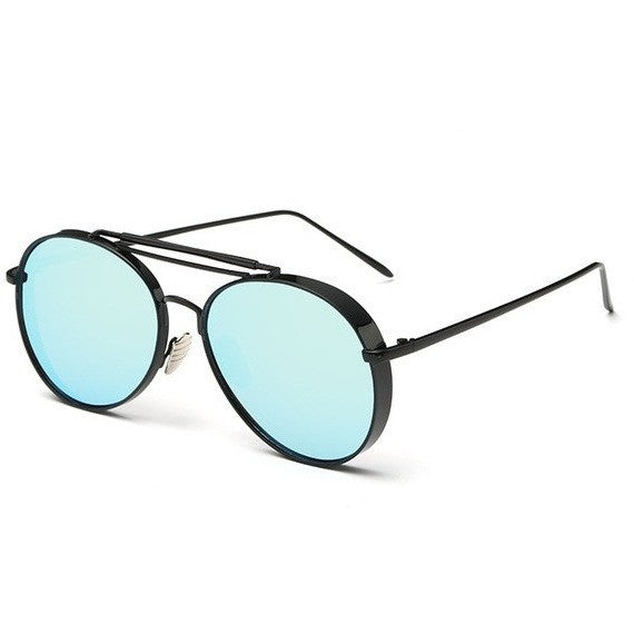 Vintage Fashion Retro Round Alloy Mirror Pilot Style Sunglasses - I Am A Dreamer
