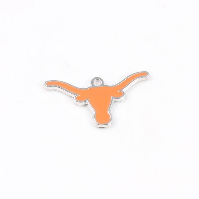 American Football Texas Longhorns USA Dangles Charm Bracelet or Necklace - I Am A Dreamer