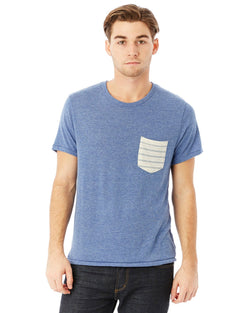 Alternative Apparel - 01939E1 - Men's Eco Jersey Triblend Pocket Crew
