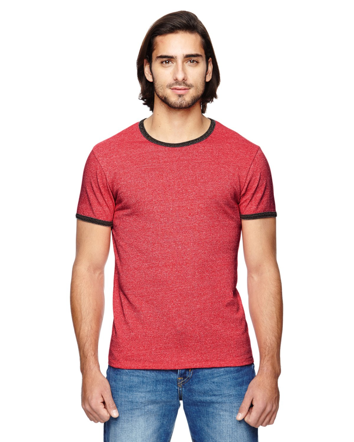 Alternative Apparel - 01957E - Men's Ringer Eco-Mock Twist T-Shirt