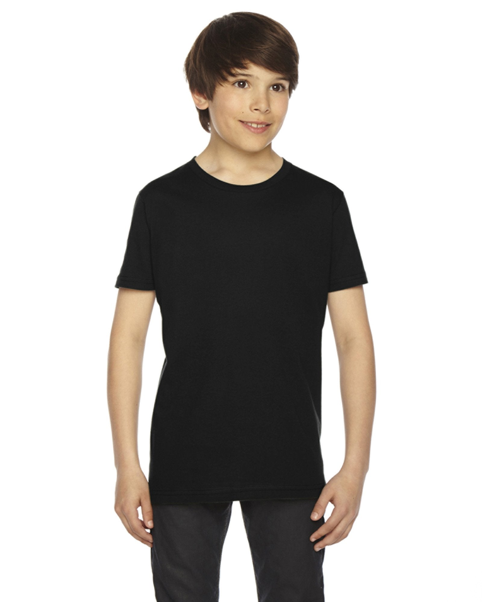 American Apparel - 2201 - Youth Fine Jersey Short-Sleeve T-Shirt