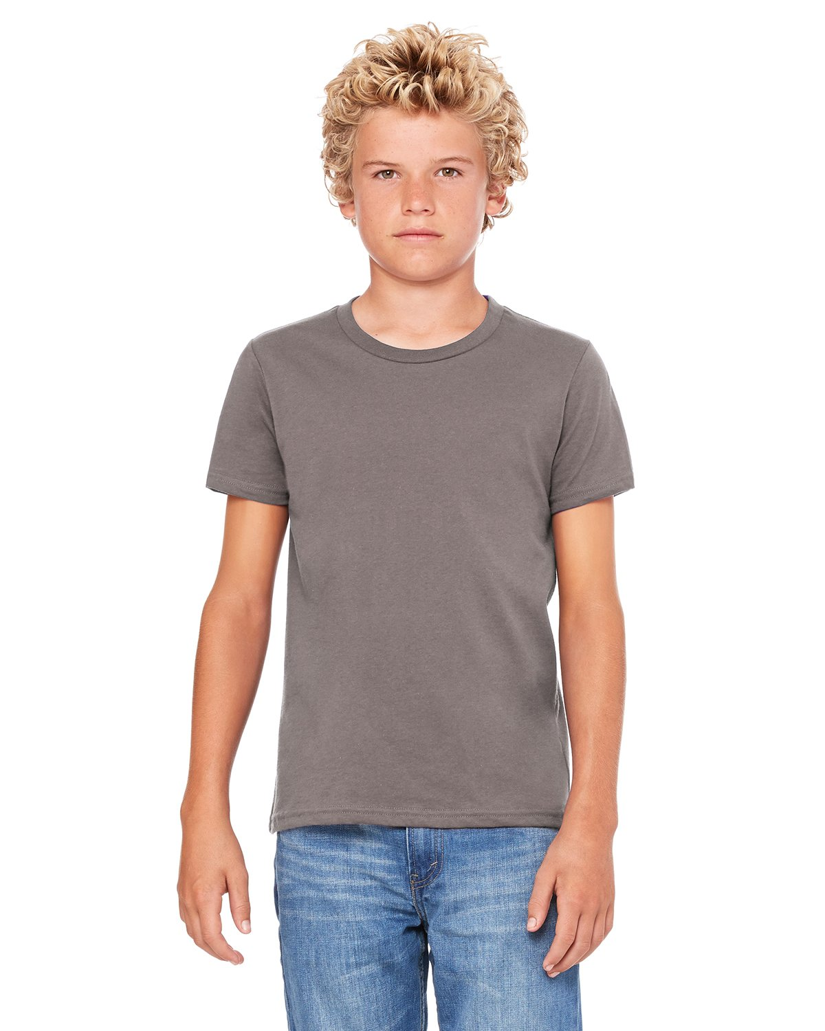 Bella + Canvas - 3001Y - Youth Jersey Short-Sleeve T-Shirt