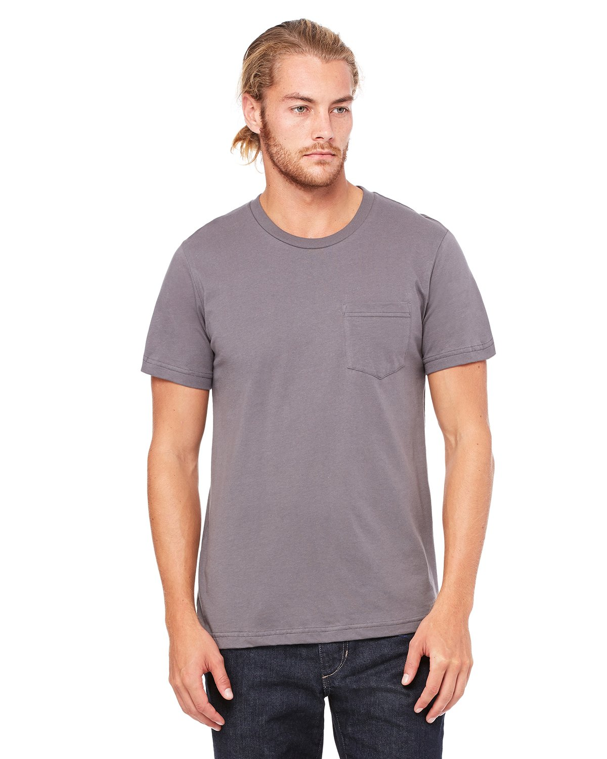 Bella + Canvas - 3021 - Men's Jersey Short-Sleeve Pocket T-Shirt
