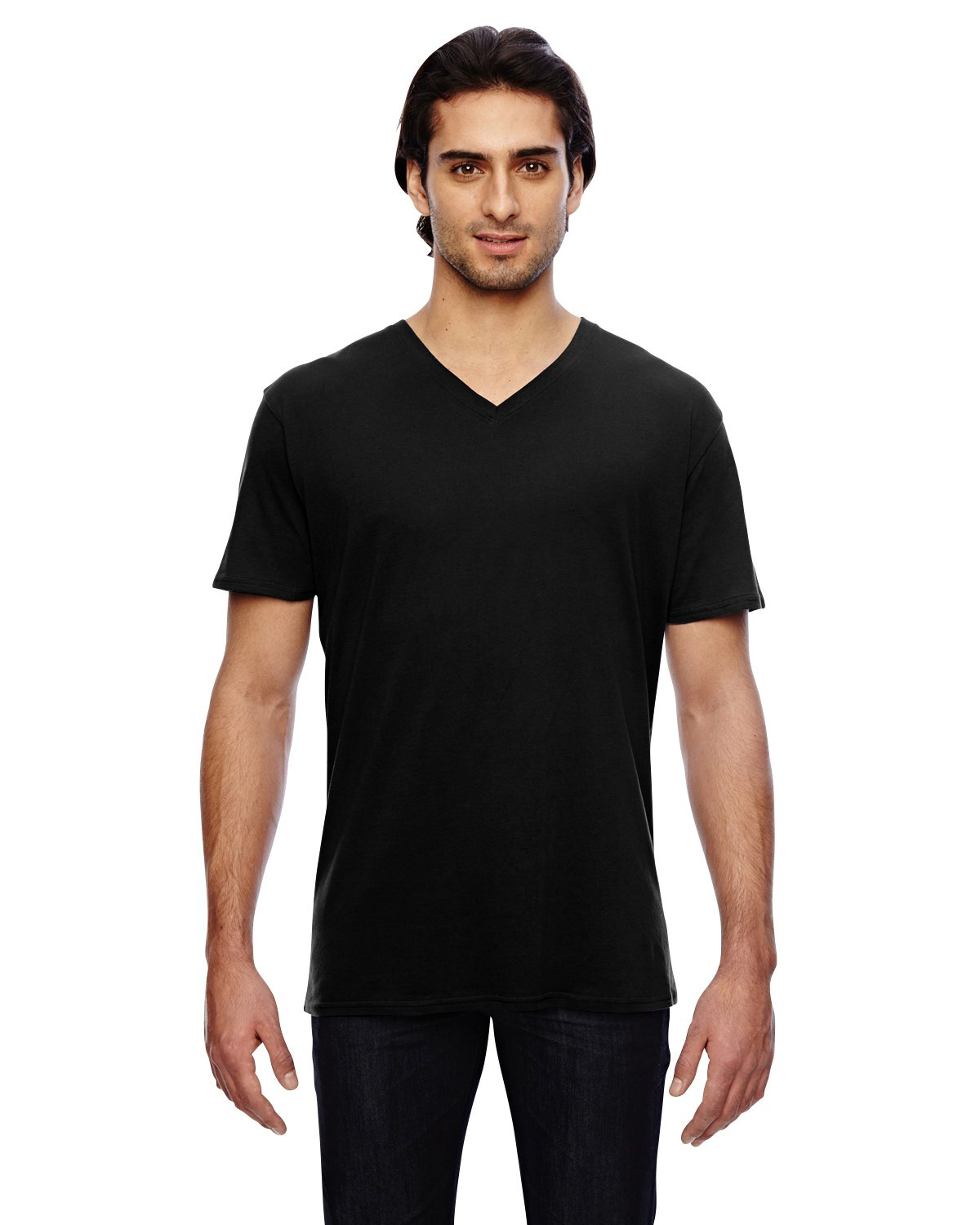 Anvil - 352 - 3.2 oz. Featherweight Short-Sleeve V-Neck T-Shirt