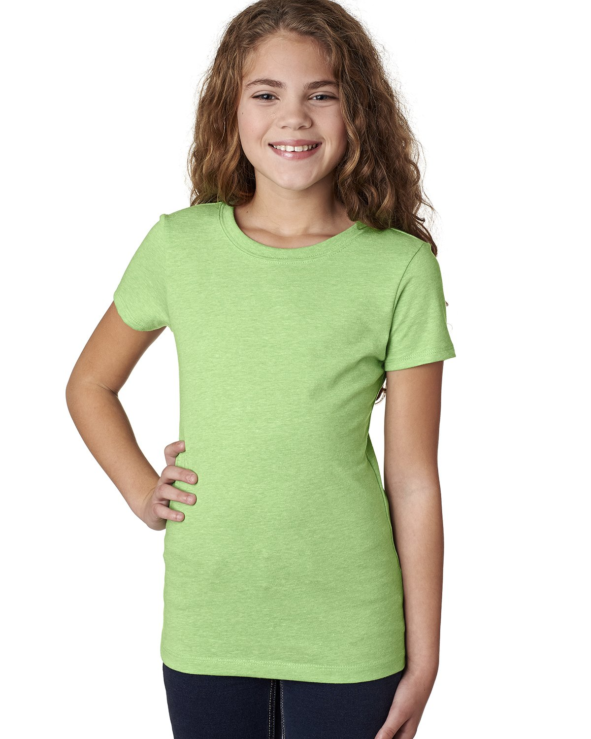 Next Level - 3712 - Youth Princess CVC T-Shirt