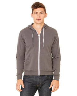 Bella + Canvas - 3739 - Unisex Poly-Cotton Fleece Full-Zip Hoodie