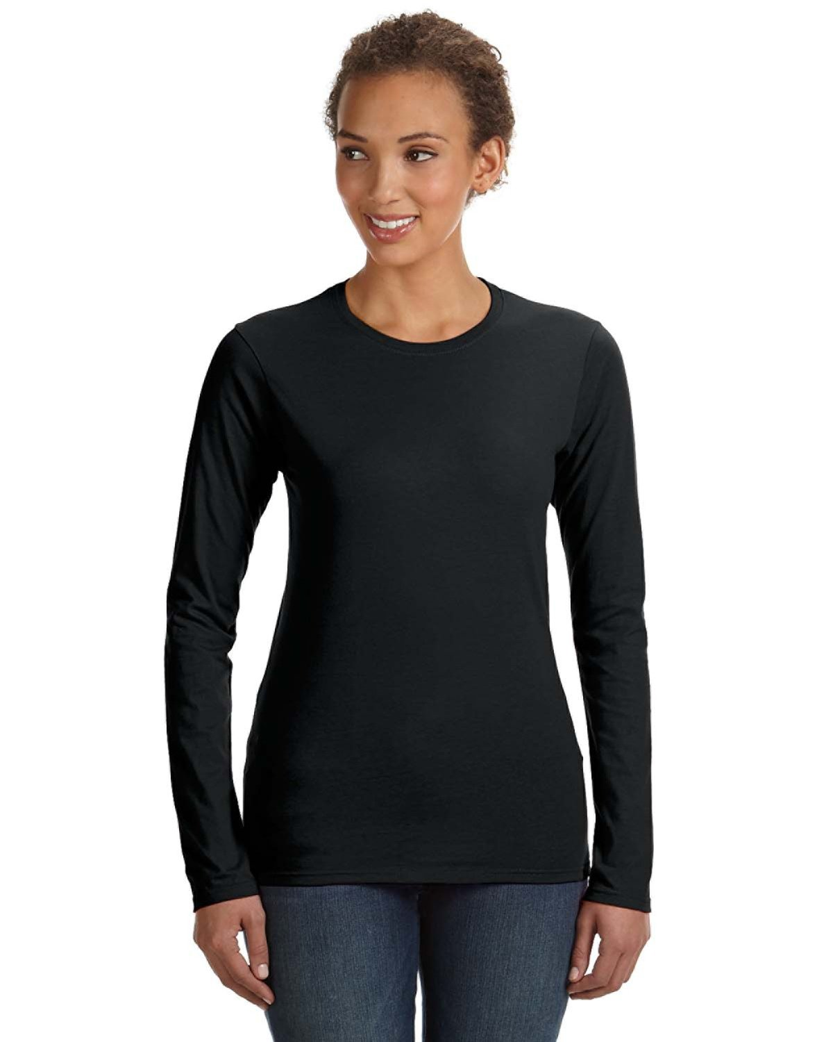 Anvil - 374L- Ladies' Lightweight Fitted Long-Sleeve T-Shirt
