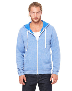 Bella + Canvas - 3909 - Unisex Triblend Sponge Fleece Full-Zip Hoodie