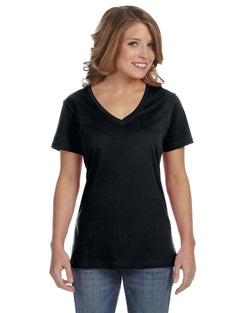 Anvil - 392A - Ladies' Ringspun Featherweight V-Neck T-Shirt
