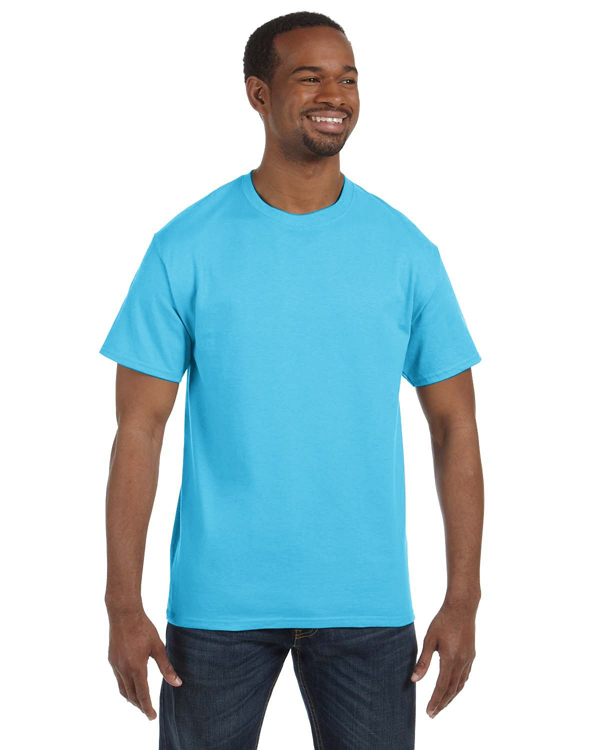 Hanes - 5250T - Men's 6.1 oz. Tagless® T-Shirt
