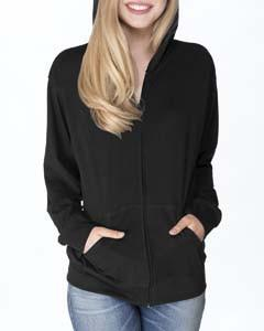 Next Level - 6491 - Adult Sueded Full-Zip Hoody