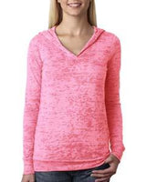 Next Level - 6521 - Ladies' Burnout Hoody