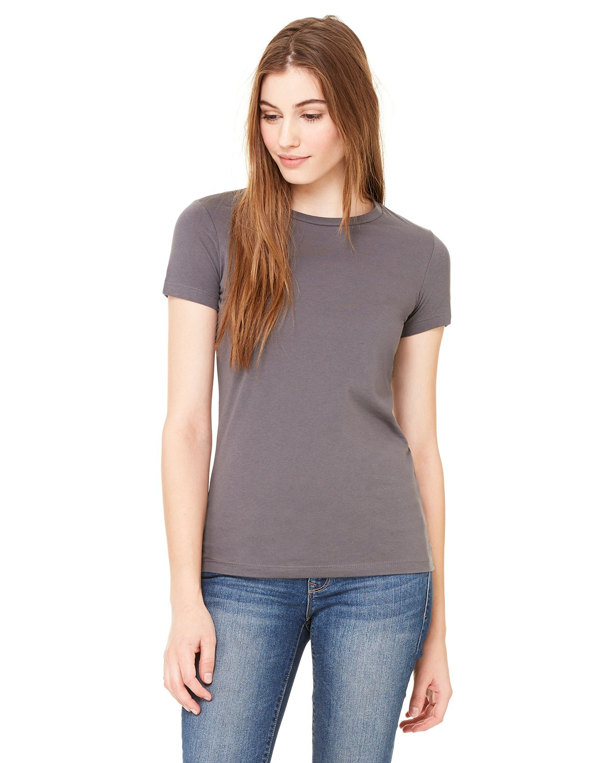 Bella + Canvas - 6650 - Ladies' Poly-Cotton Short-Sleeve T-Shirt