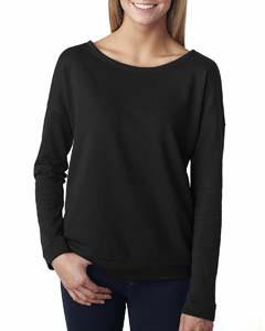 Next Level - 6931 - Ladies' French Terry Long-Sleeve Scoop