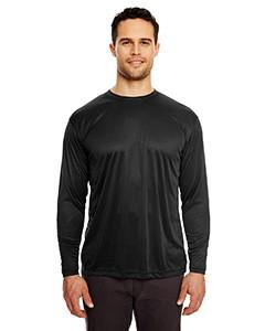 UltraClub - 8422 - Adult Cool & Dry Sport Long-Sleeve Performance Interlock T-Shirt
