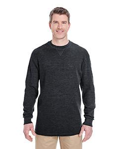 UltraClub - 8455 - Adult Mini Thermal Crewneck