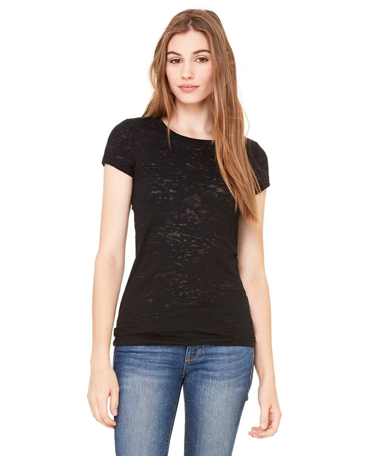 Bella + Canvas - 8601 - Ladies' Burnout Short-Sleeve T-Shirt