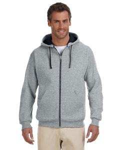 Jerzees - 93CR - Adult 8 oz. NuBlend® Contrast Full-Zip Hood