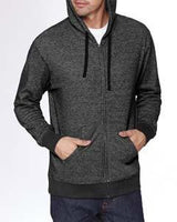 Next Level - 9600 - Adult Denim Fleece Full-Zip Hoody