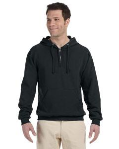 Jerzees - 994MR - Adult 8 oz. NuBlend® Fleece Quarter-Zip Pullover Hood