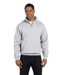 Jerzees - 995M - Adult 8 oz. NuBlend® Quarter-Zip Cadet Collar Sweatshirt