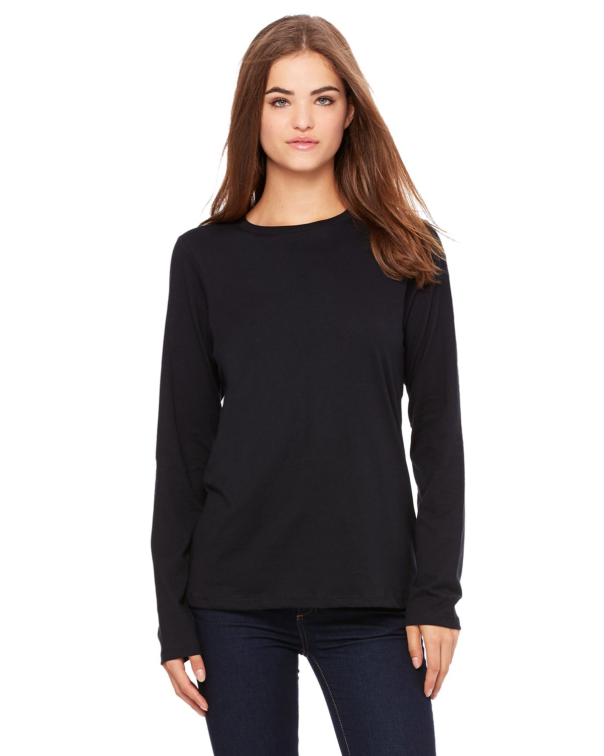 Bella + Canvas - B6450 - Ladies' Relaxed Jersey Long-Sleeve T-Shirt