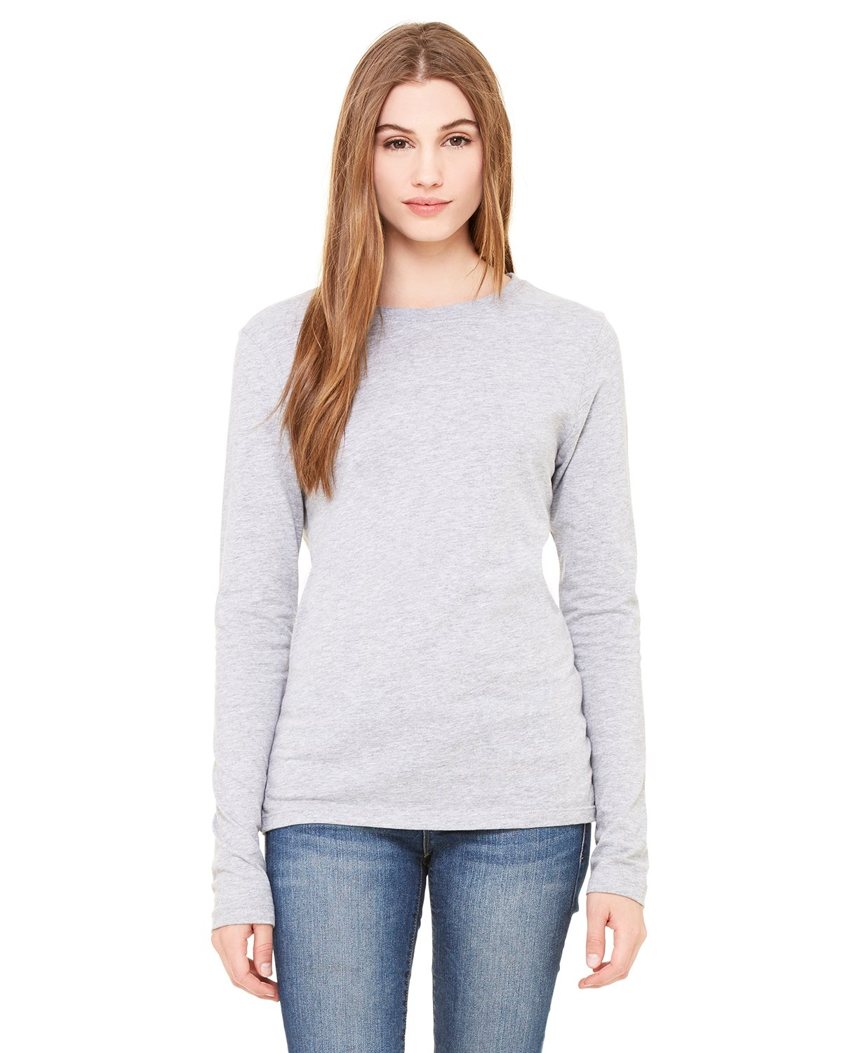 Bella + Canvas - B6500 - Ladies' Jersey Long-Sleeve T-Shirt