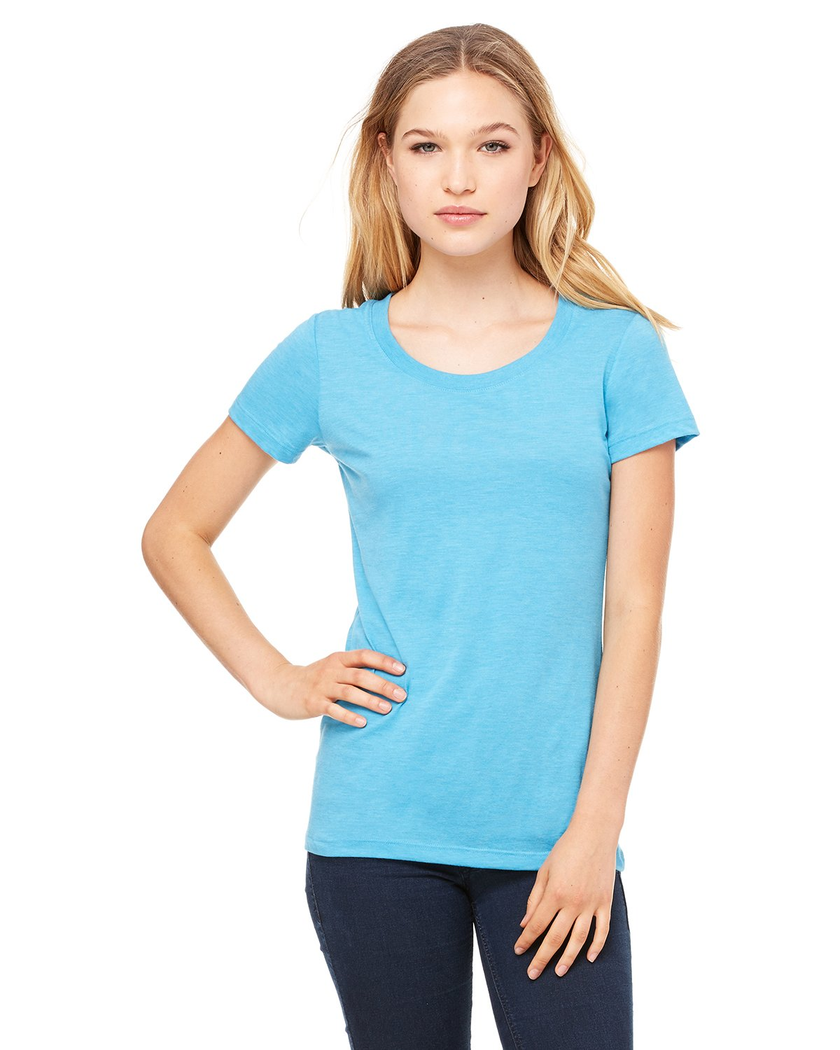 Bella + Canvas - B8413 - Ladies' Triblend Short-Sleeve T-Shirt
