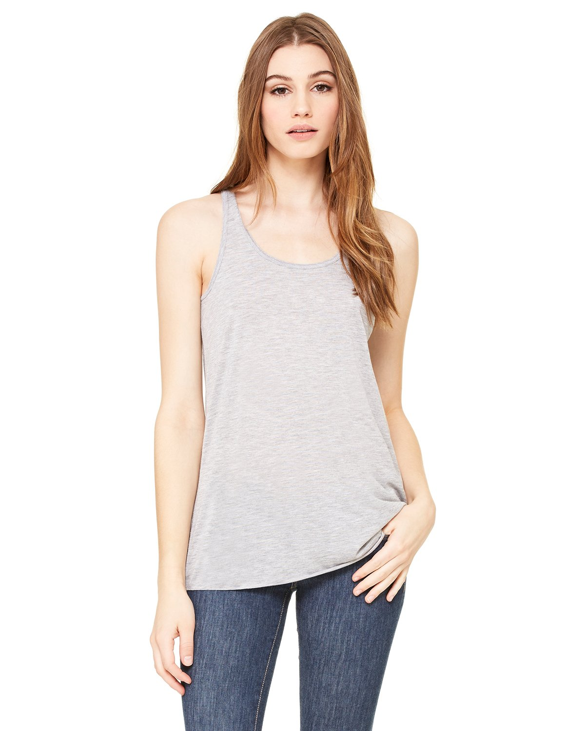 Bella + Canvas - B8800 - Ladies' Flowy Racerback Tank