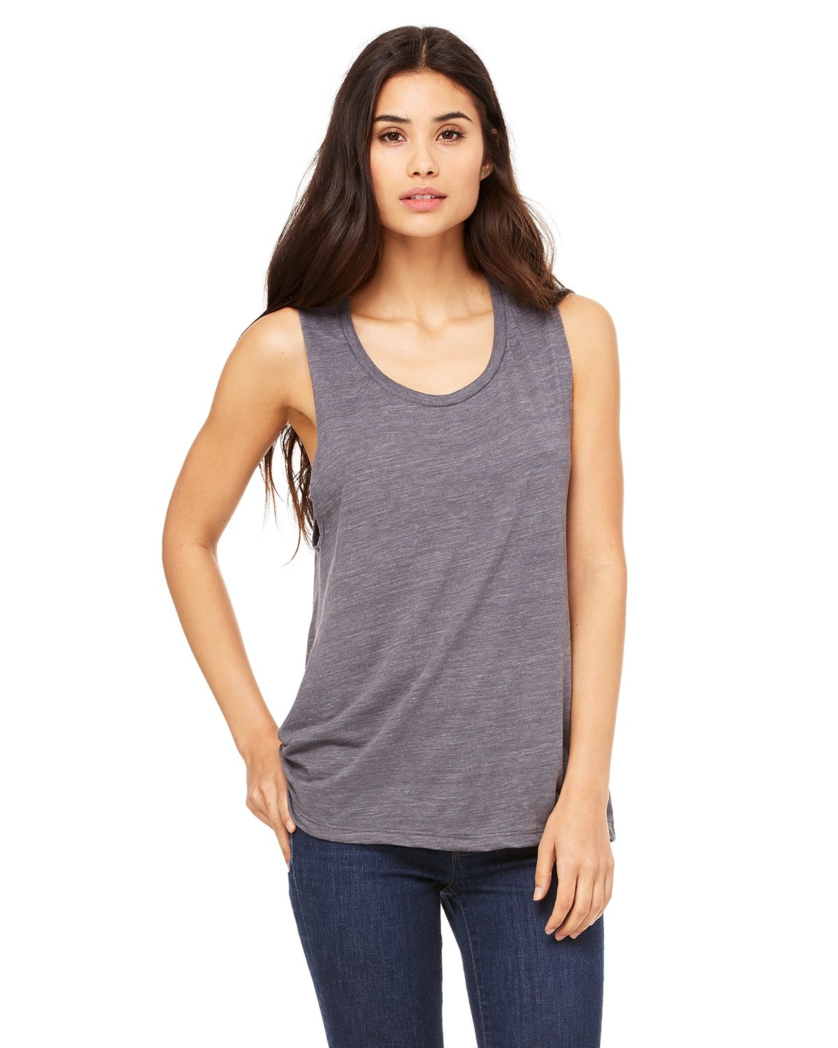 Bella + Canvas - B8803 - Ladies' Flowy Scoop Muscle Tank