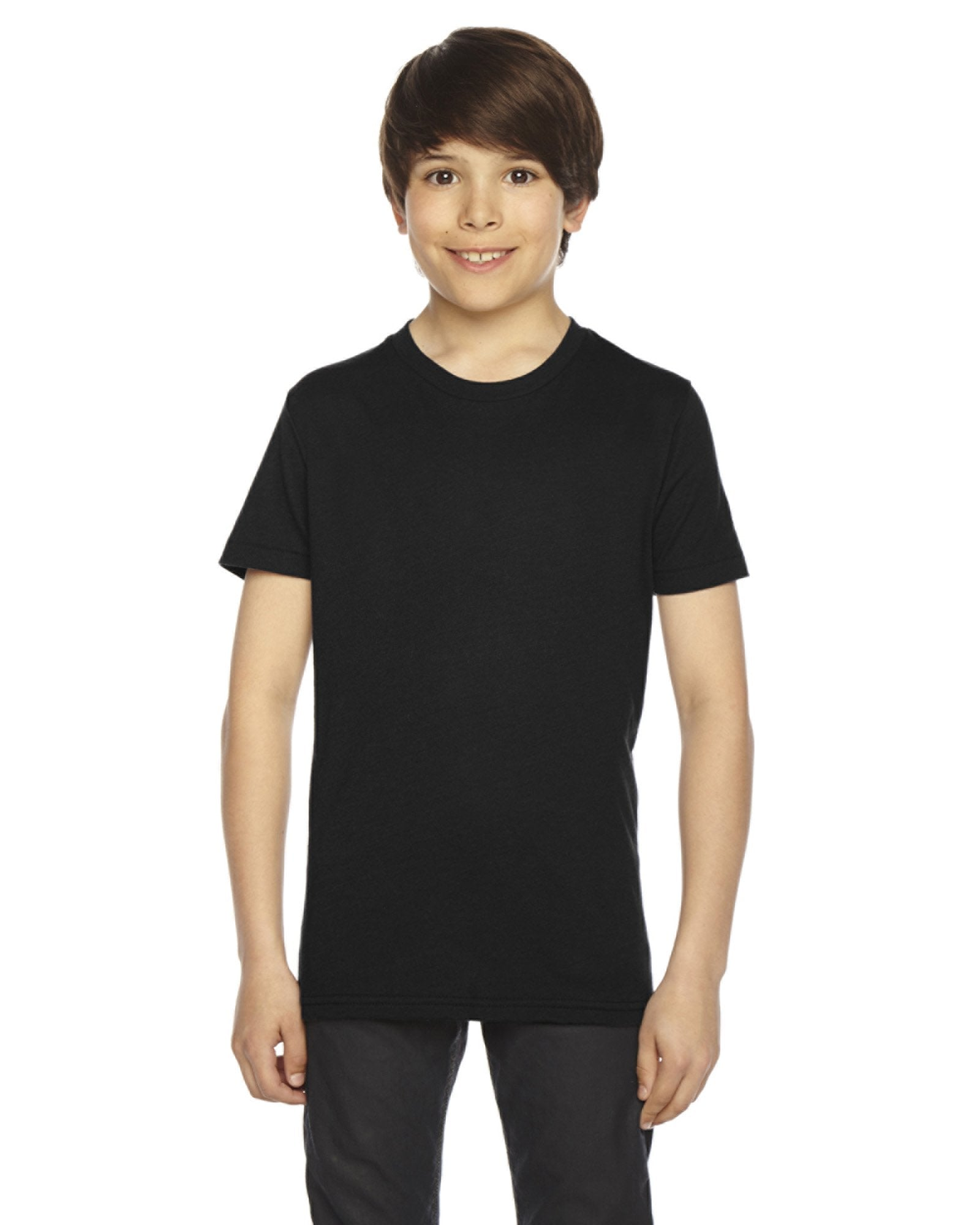 American Apparel - BB201 - Youth Poly-Cotton Short-Sleeve Crewneck