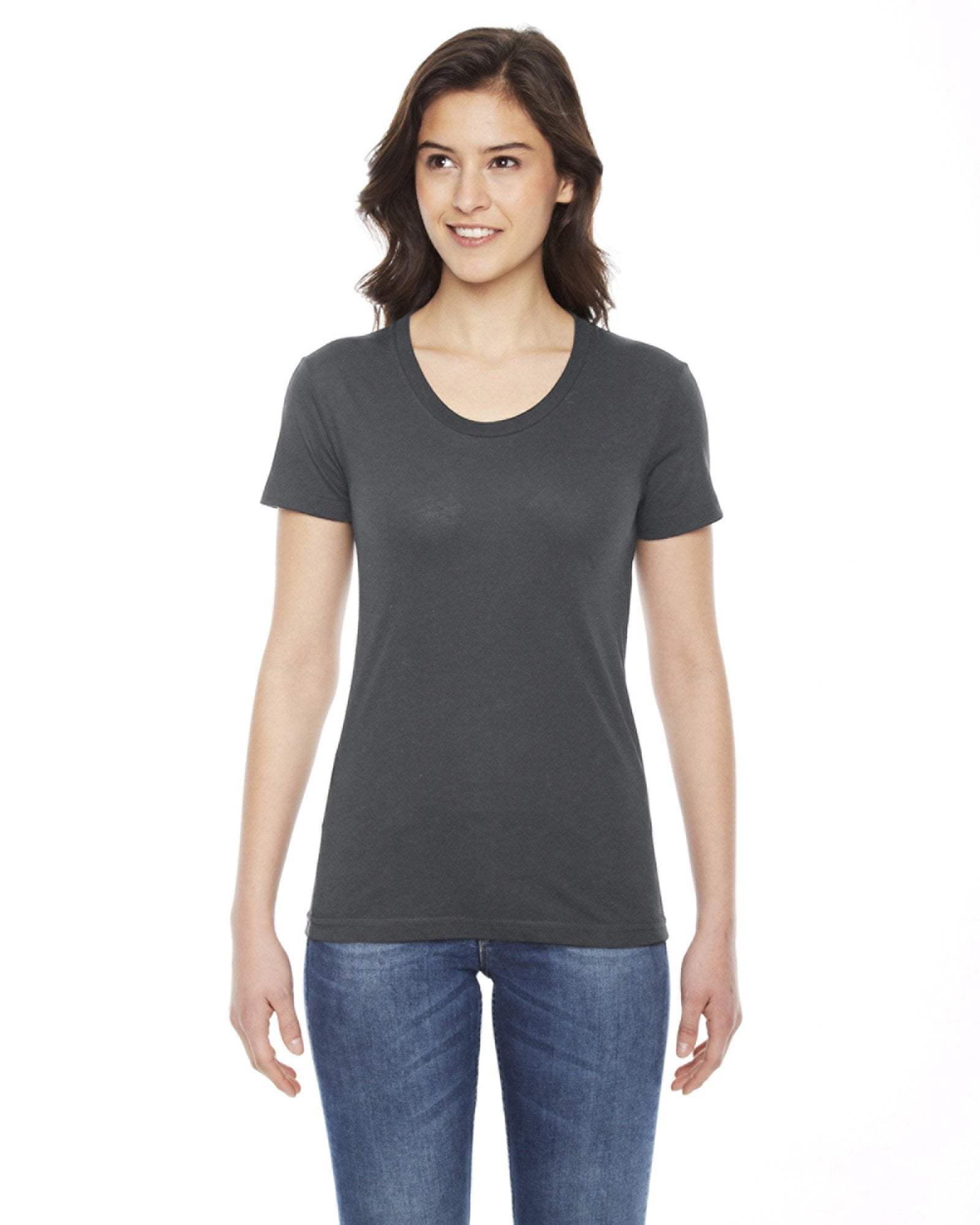 American Apparel - BB301 - Ladies' Poly-Cotton Short-Sleeve Crewneck
