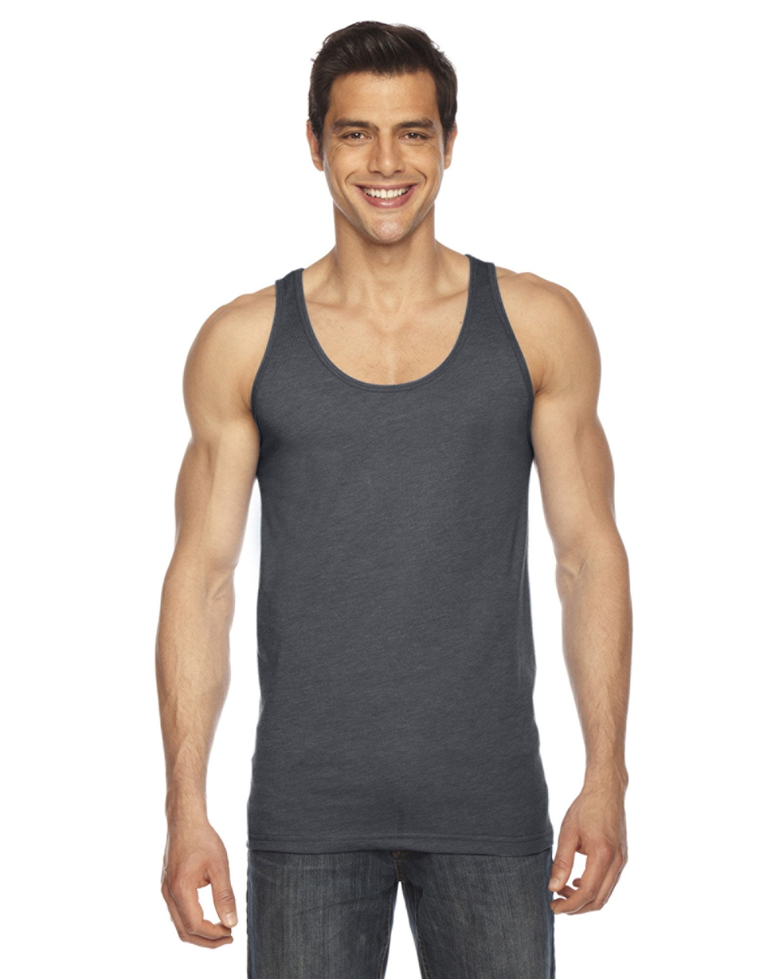 American Apparel - BB408 - Unisex Poly-Cotton Tank