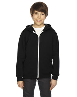 American Apparel - F297 - Youth Flex Fleece Zip Hoodie