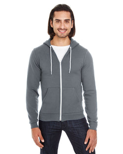 American Apparel - F497 - Unisex Flex Fleece Zip Hoodie