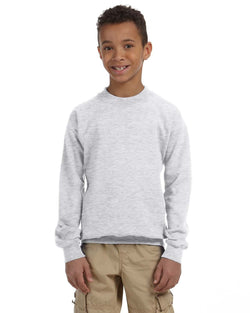 Gildan - G180B - Youth Heavy Blend™  8 oz., 50/50 Fleece Crew